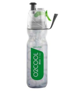 Sport- och träningsflaska med kylfunktion Mist'nSip - Grön